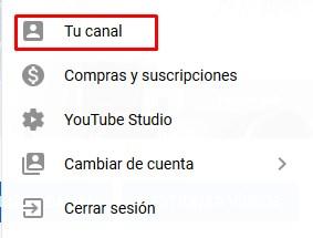 entrar a tu canal de youtube